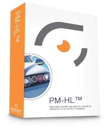 PM-HL Headlamp Evaluation Software