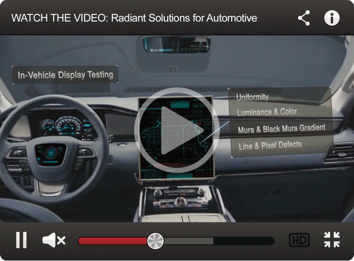 Automotive   Radiant Vision Systems
