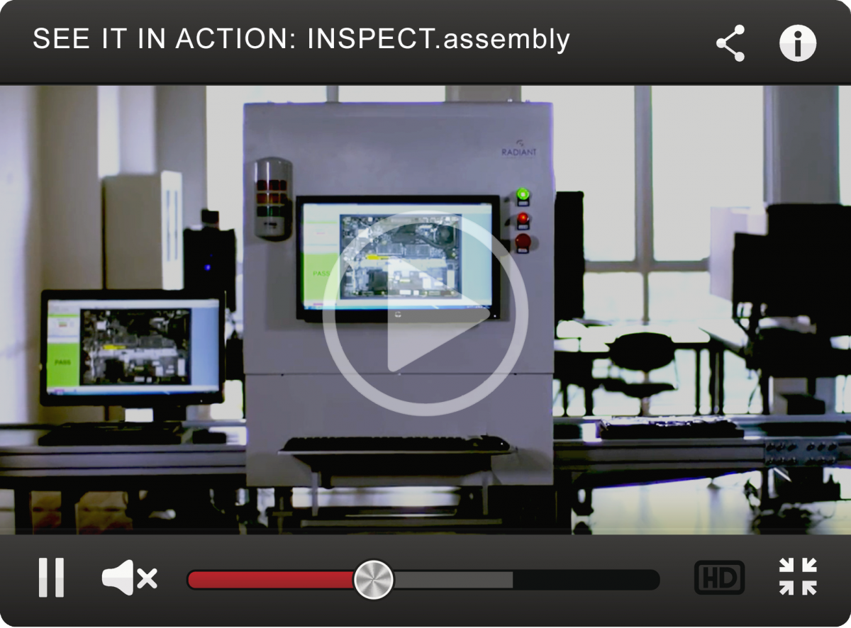 INSPECT assembly™ Automated Visual Inspection Station